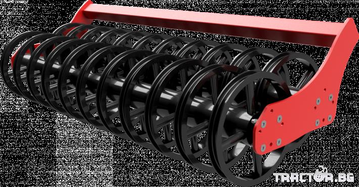 Брани Полу-навесна компактна дискова брана SIPTEC модел DiscoPlus MR T 31 - Трактор БГ
