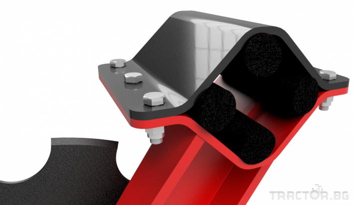 Брани Полу-навесна компактна дискова брана SIPTEC модел DiscoPlus RТ 15 - Трактор БГ