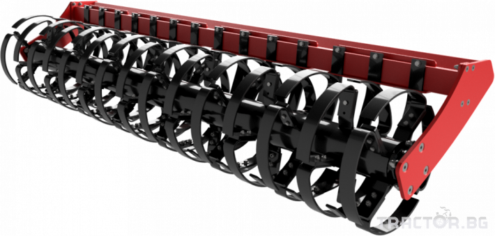 Брани Полу-навесна компактна дискова брана SIPTEC модел DiscoPlus RТ 18 - Трактор БГ