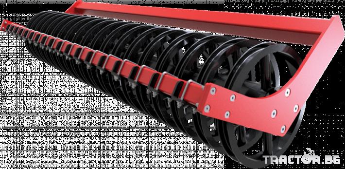 Брани Полу-навесна компактна дискова брана SIPTEC модел DiscoPlus RТ 19 - Трактор БГ