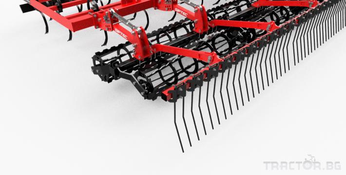 Култиватори Полу-навесен предсеитбен култиватор SIPTEC модел VibroPro Т / VibroPro RT 15 - Трактор БГ