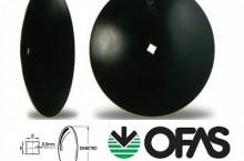 ПРОМО ЦЕНА Гладки и назъбени дискове за брана O.F.A.S.    с размери 460х4 мм   510х4мм   610x5мм   610х6мм
