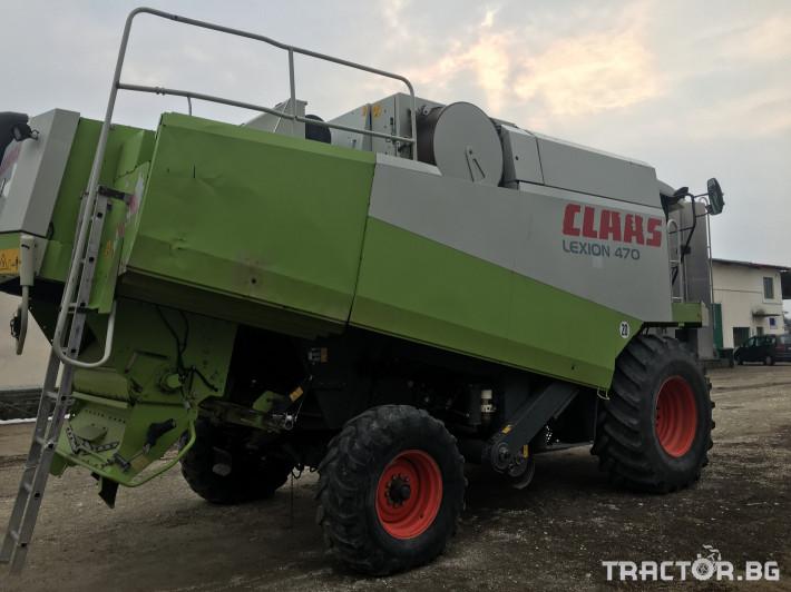 Комбайни Claas Комбайн CLAAS Lexion 470 + V750 1 - Трактор БГ