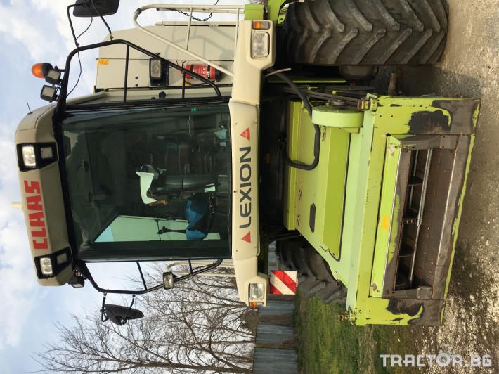Комбайни Claas Комбайн CLAAS Lexion 470 + V750 5 - Трактор БГ