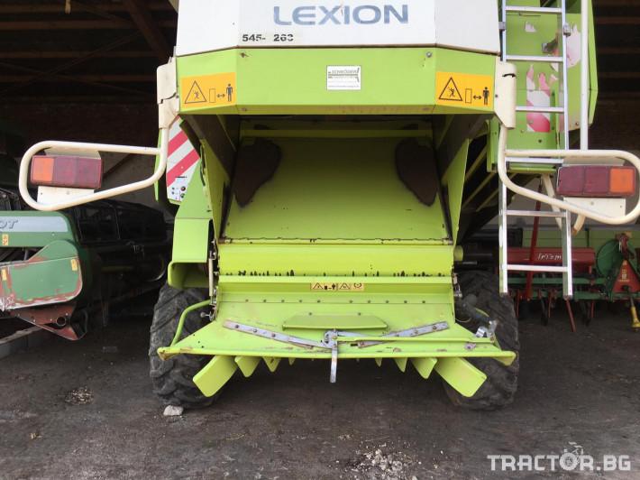 Комбайни Claas Комбайн CLAAS Lexion 470 + V750 6 - Трактор БГ