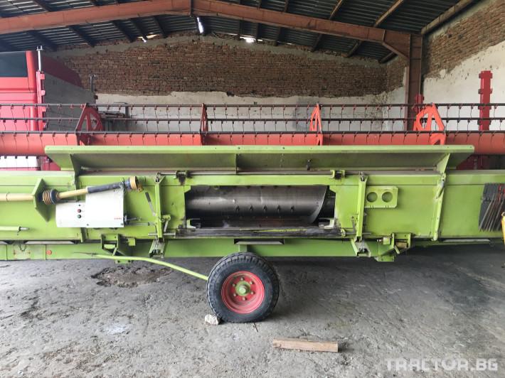 Комбайни Claas Комбайн CLAAS Lexion 470 + V750 22 - Трактор БГ