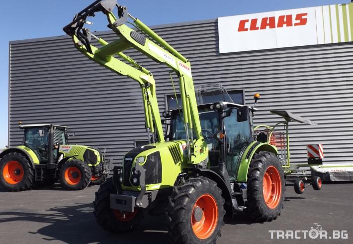 Трактори Трактор CLAAS модел ARION 410 CIS + FL80 0 - Трактор БГ