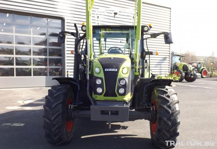 Трактори Трактор CLAAS модел ARION 410 CIS + FL80 1 - Трактор БГ