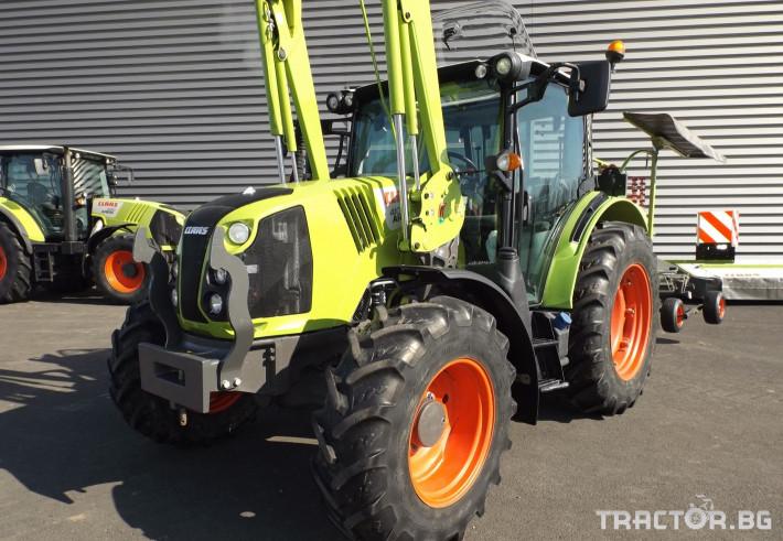 Трактори Трактор CLAAS модел ARION 410 CIS + FL80 2 - Трактор БГ