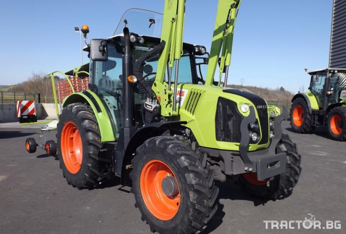 Трактори Трактор CLAAS модел ARION 410 CIS + FL80 7 - Трактор БГ