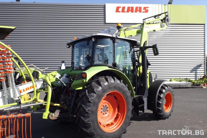 Трактори Трактор CLAAS модел ARION 410 CIS + FL80 8 - Трактор БГ