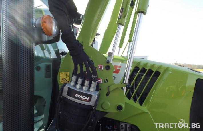 Трактори Трактор CLAAS модел ARION 410 CIS + FL80 10 - Трактор БГ