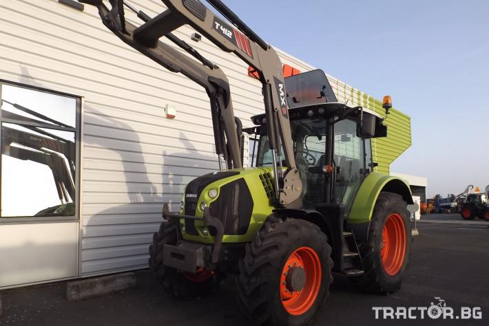Трактори Трактор CLAAS модел ARION 520 CIS + MX 0 - Трактор БГ