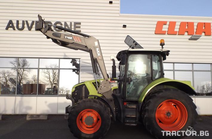 Трактори Трактор CLAAS модел ARION 520 CIS + MX 1 - Трактор БГ