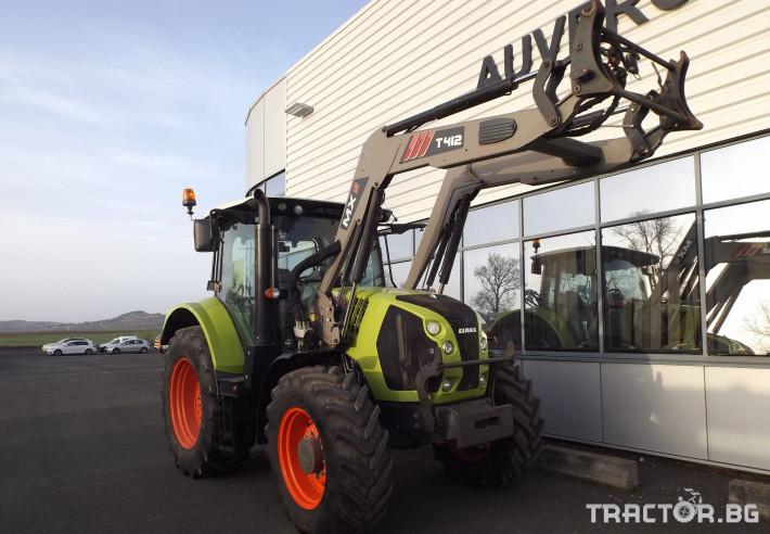 Трактори Трактор CLAAS модел ARION 520 CIS + MX 5 - Трактор БГ