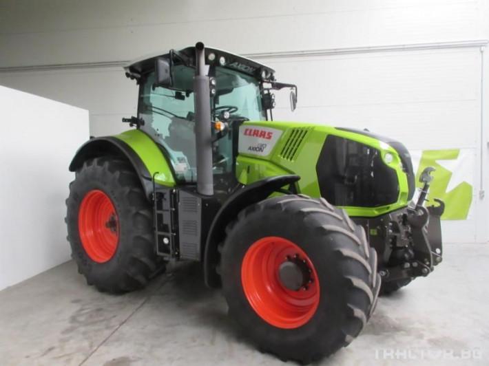Трактори Трактор CLAAS модел AXION 810 CMATIC CEBIS 2 - Трактор БГ