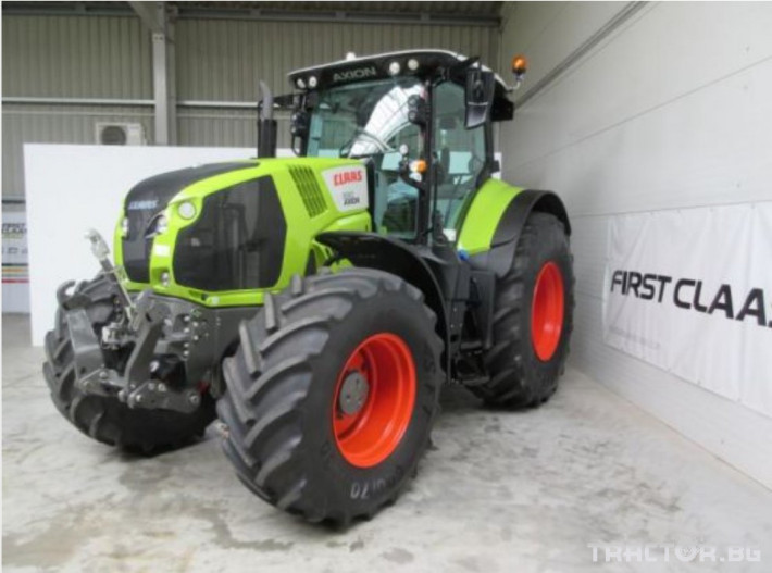 Трактори Трактор CLAAS модел AXION 830 CIS+ 1 - Трактор БГ