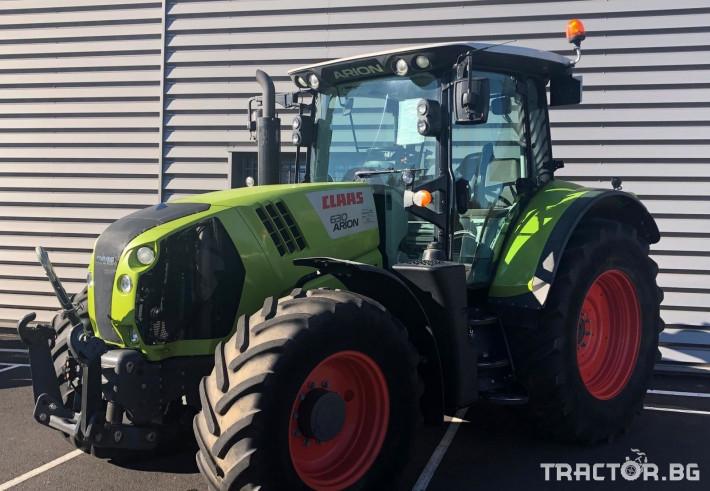 Трактори Трактор CLAAS модел ARION 630 CIS 0 - Трактор БГ