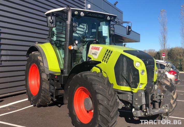 Трактори Трактор CLAAS модел ARION 630 CIS 1 - Трактор БГ