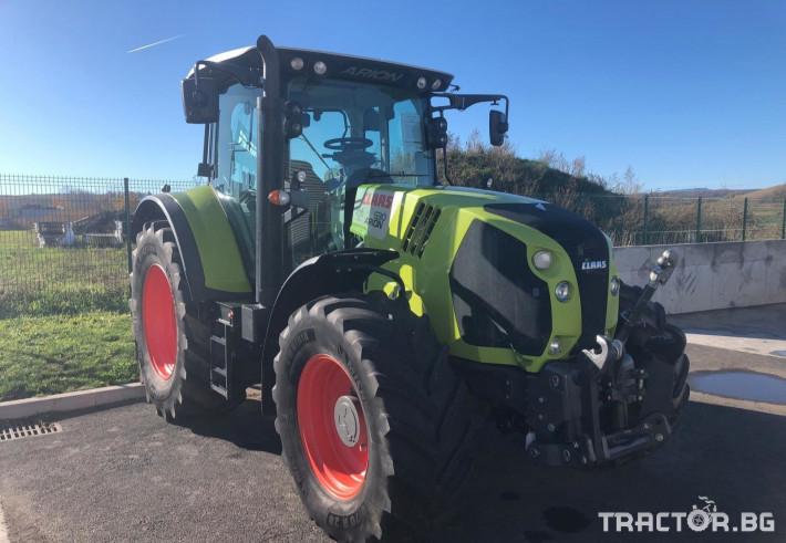 Трактори Трактор CLAAS модел ARION 630 CIS 5 - Трактор БГ